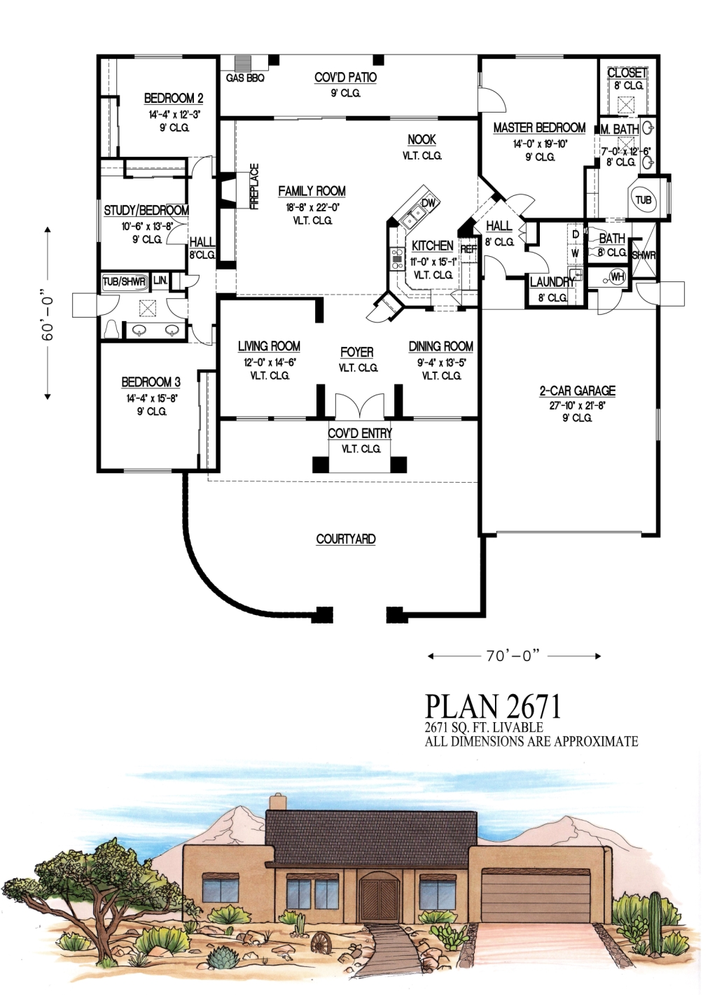 2500 to 3000 square feet for Floor plans 2500 square feet