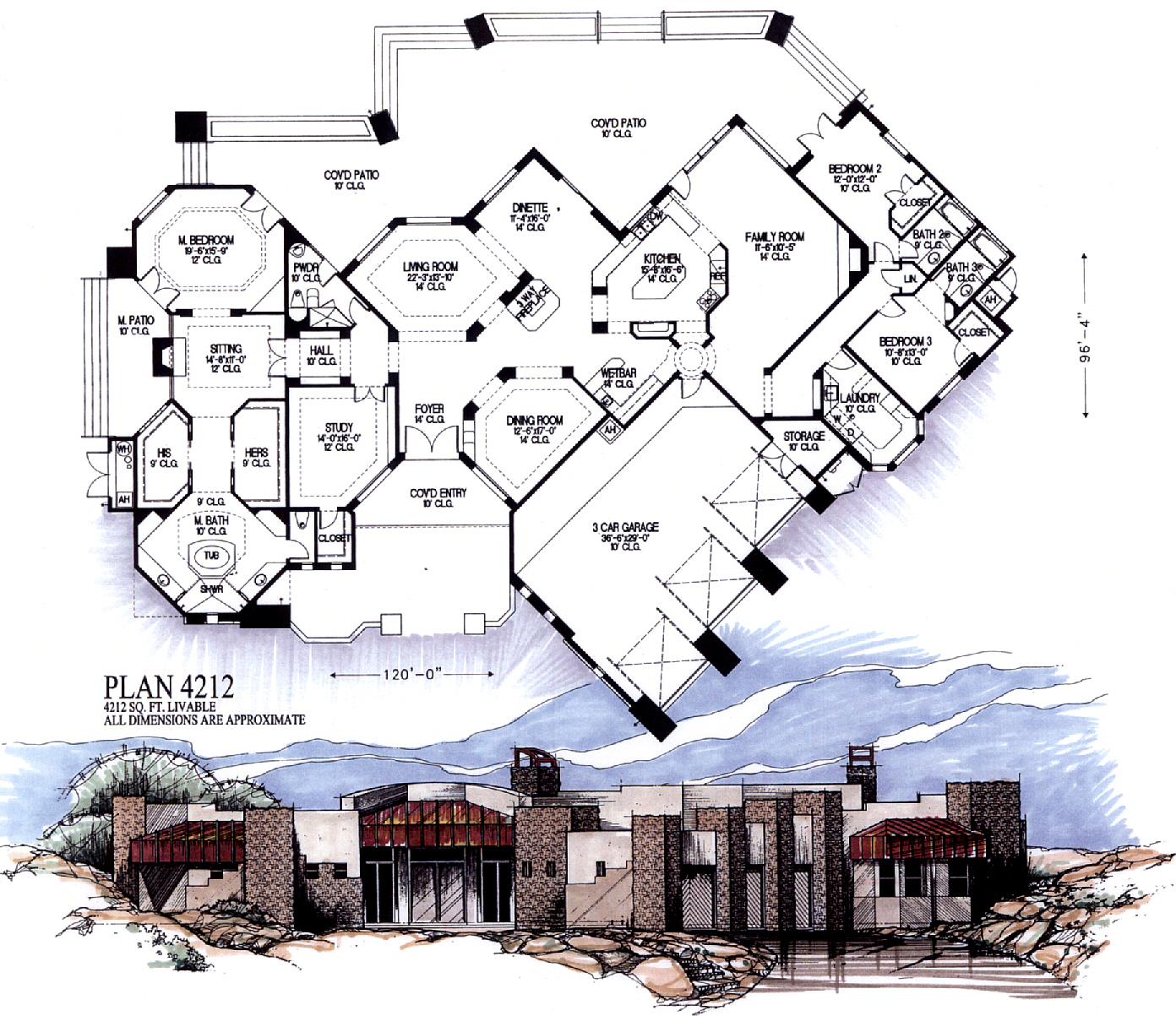 4000 square feet and larger for 4000 sq ft floor plans
